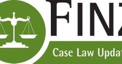 Finz Case Law Updates